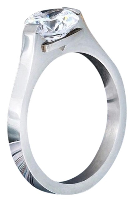 Item - White Stainless Steel New High Quality Ring
