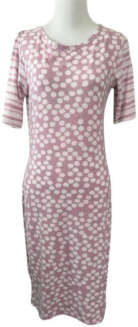 Preload https://img-static.tradesy.com/item/22907338/lularoe-pink-and-white-julia-casual-maxi-dress-size-4-s-0-1-650-650.jpg