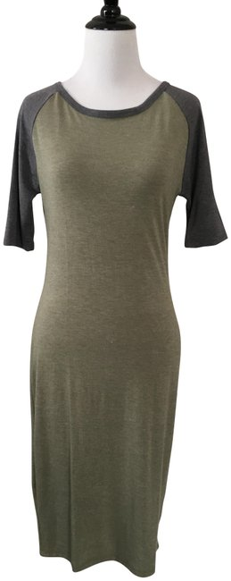 Preload https://img-static.tradesy.com/item/22907361/lularoe-grey-and-green-julia-casual-maxi-dress-size-2-xs-0-1-650-650.jpg