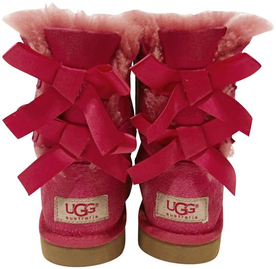 Preload https://img-static.tradesy.com/item/22907460/ugg-australia-pink-kids-bailey-bow-bootsbooties-size-us-12-regular-m-b-0-1-540-540.jpg