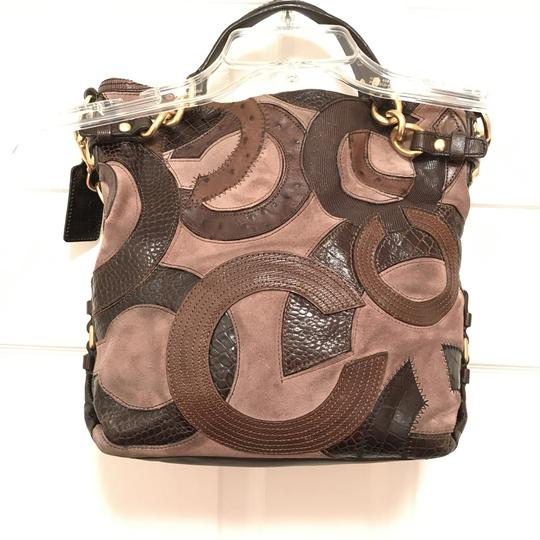 Coach Purse Handbag Hobo Tote Patchwork Shoulder Bag Image 1