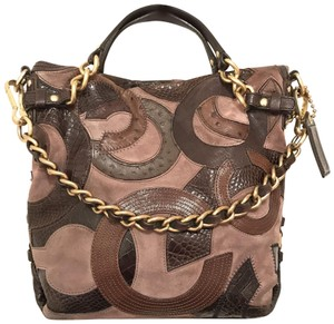 Coach Purse Handbag Hobo Tote Patchwork Shoulder Bag