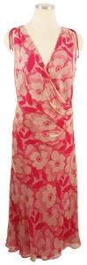 Max Mara Silk Floral Italy Dress