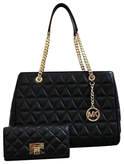 Michael Kors Quilted Leather Chain Gift Shoulder Bag Image 0
