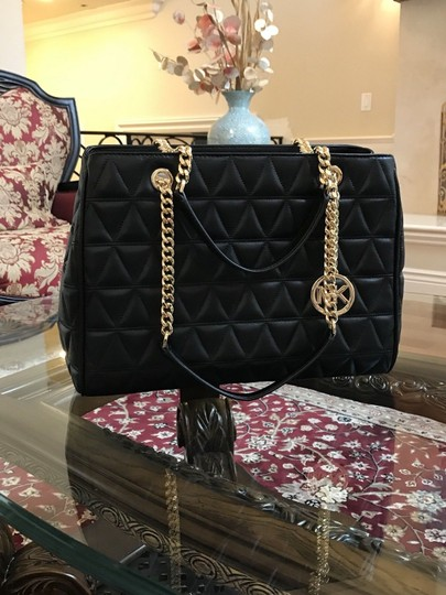 Michael Kors Quilted Leather Chain Gift Shoulder Bag Image 4