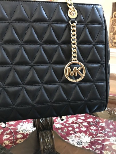 Michael Kors Quilted Leather Chain Gift Shoulder Bag Image 9