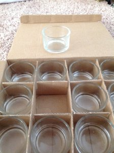 Eastland Clear Up To 100 Tealight Holders Votive/Candle