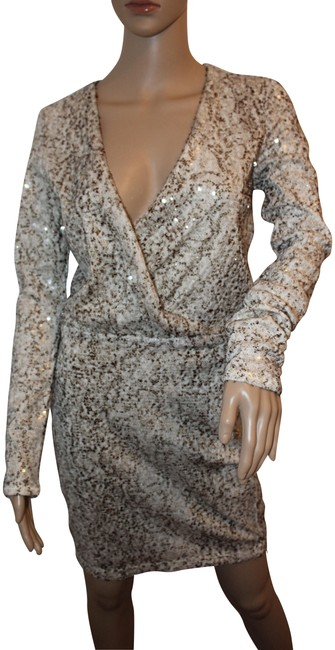 Preload https://img-static.tradesy.com/item/22907671/moda-international-cream-with-muted-brown-and-gold-sequins-nwot-long-sleeve-small-short-formal-dress-0-1-650-650.jpg