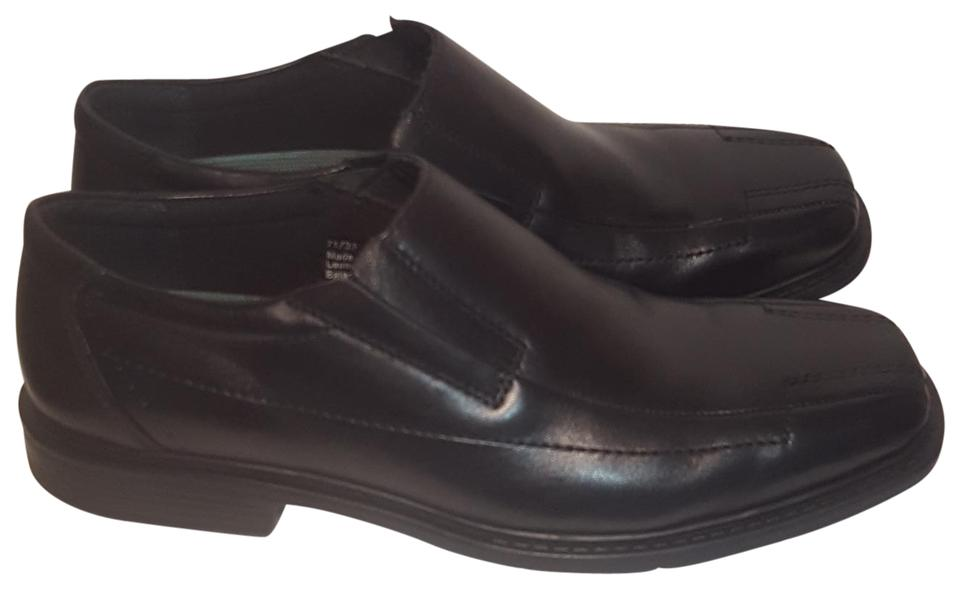 12cbcdcdf003 Clarks Black Men s Square Toe Leather Slip-on Loafers 8.5m Formal Shoes.  Size  US 8.5 Regular ...