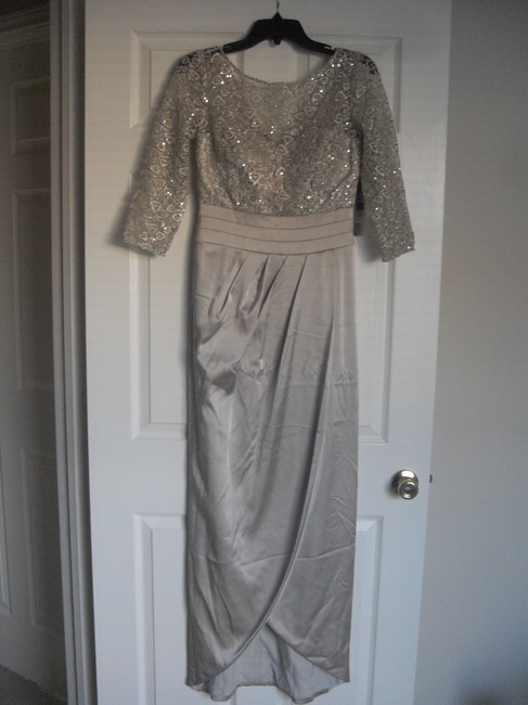 Kay Unger Lace Sheath Sequin Dress Image 6