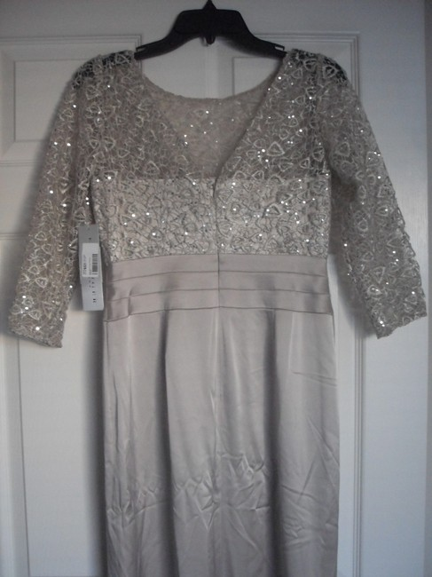 Kay Unger Lace Sheath Sequin Dress Image 8