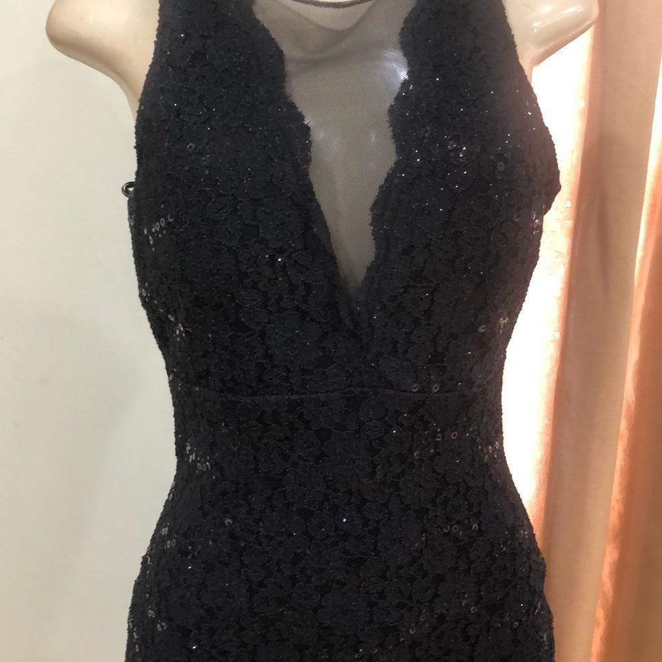 964ff394f0f Night Way Collections Lace Sequined Mid-length Cocktail Dress Size 8 (M) -  Tradesy