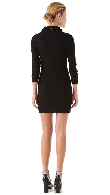 Diane von Furstenberg Dvf Necklace Woven Crepe Dress Image 1