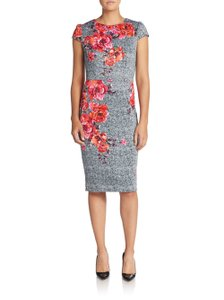 Betsey Johnson short dress Floral Sheath Fitted on Tradesy