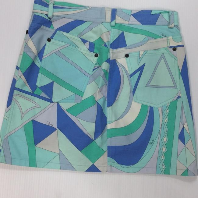 Emilio Pucci Mini Skirt multi blues Image 1