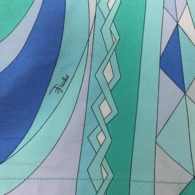 Emilio Pucci Mini Skirt multi blues Image 2