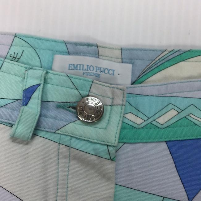 Emilio Pucci Mini Skirt multi blues Image 3