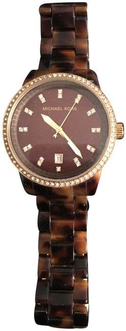 Michael Kors Tortoise Shell Brown Mk5038 Watch Michael Kors Tortoise Shell Brown Mk5038 Watch Image 1