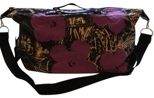 Andy Warhol purple/black Travel Bag