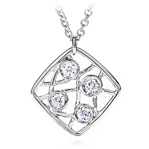 Hearts on Fire Ladies Pendant Necklace On Chain (8572)