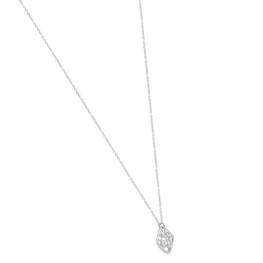 Hearts on Fire Diamond Pendant Necklace On Chain White Gold Image 4