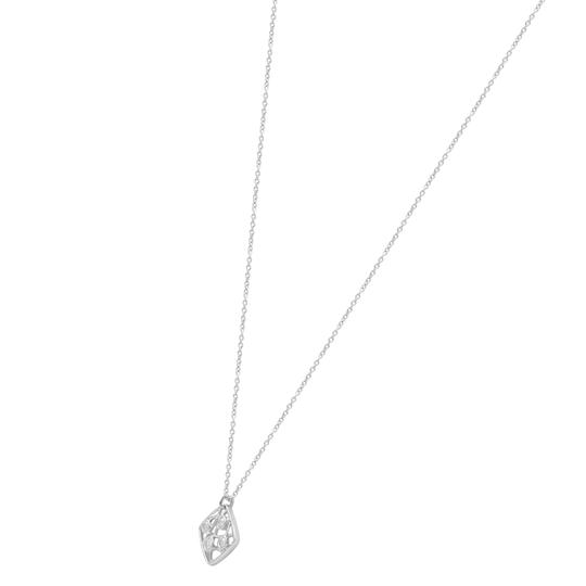 Hearts on Fire Diamond Pendant Necklace On Chain White Gold Image 5