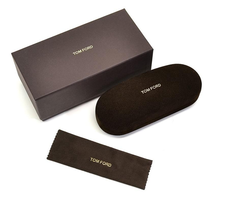 b3166106222 Tom Ford Tom Ford Faux Suede Brown hard Sunglasses CASE+BOX+CLEANING CLOTH  Image ...