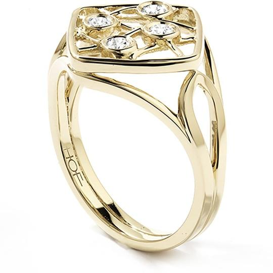 Hearts on Fire Four Stone Diamond Ring Image 3