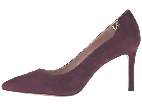 Tory Burch Burgandy Suede New In Box Port Pumps Image 1