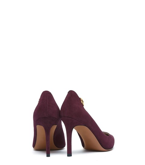 Tory Burch Burgandy Suede New In Box Port Pumps Image 2