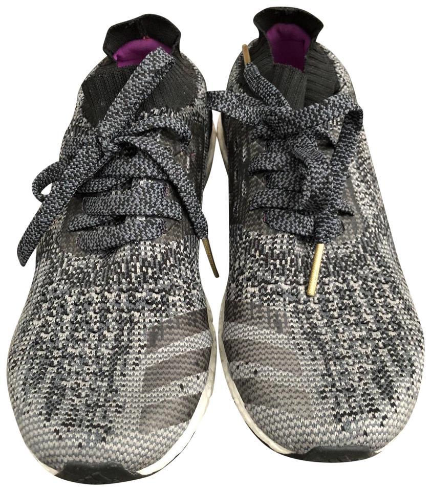 adidas Grey/Dark Grey/White Ultraboost Uncaged Sneakers - Woman Sneakers Uncaged 7948dd