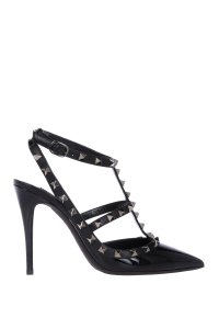Valentino Leather Patent Black Pumps