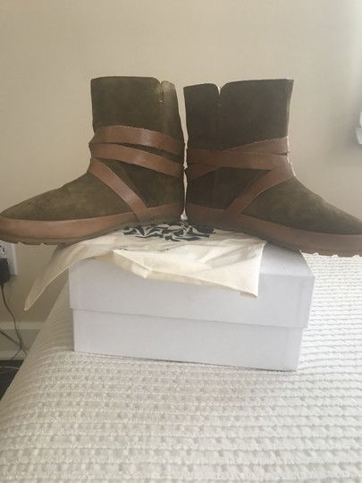 Isabel Marant Nygel Shearling Coignac/brown Boots Image 3