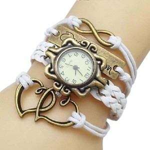 Other White INFINITY Bracelet Watch