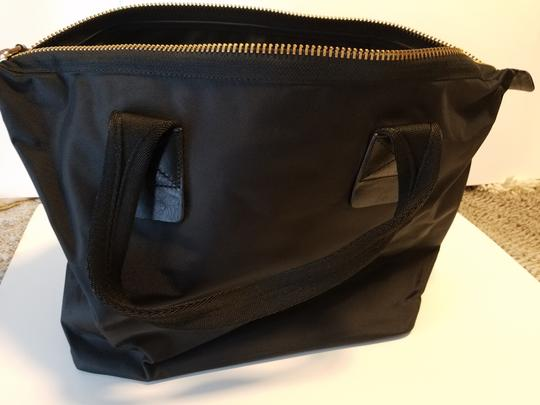 MARC JACOBS Attache Briefcase Lunchbox Small Satchel in Black w nylon handles Image 3