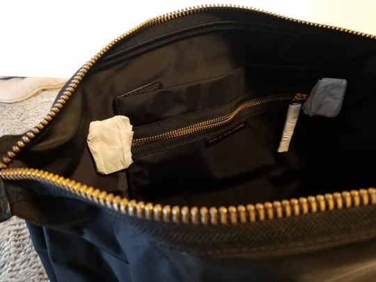 MARC JACOBS Attache Briefcase Lunchbox Small Satchel in Black w nylon handles Image 4