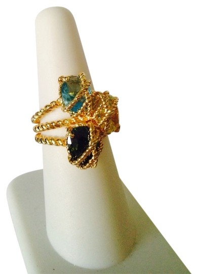 Other NWOT Multi-Gemstone Wire Rope DesignRing, Size 7