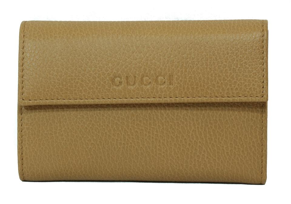 bae3d9b0175 Gucci Beige 346057 Leather French Whisky Wallet - Tradesy