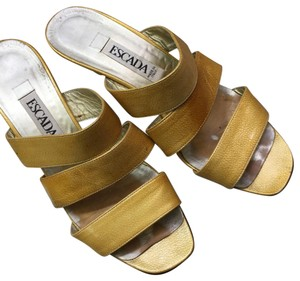 Escada Mustard yellow Sandals