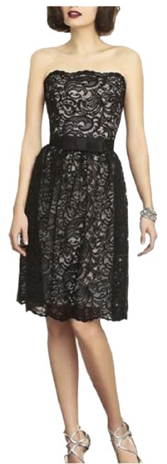 Item - Topaz / Black 2893 Short Night Out Dress Size 6 (S)