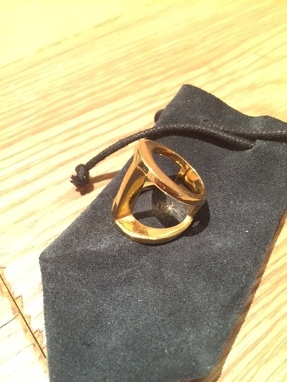 Maiyet MAIYET Hand-Poured Butterfly Ring in 18K Gold Plated Brass with MAIYET Dust Bag