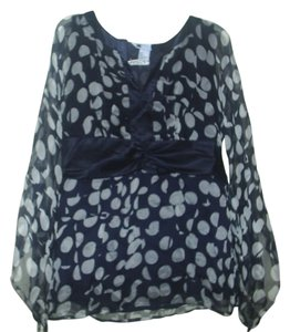 Carole Little Top Navy