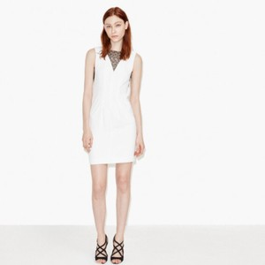 The Kooples short dress white on Tradesy