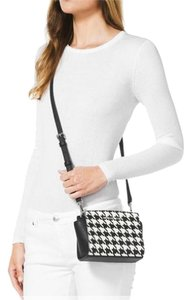 Michael Kors Checkered Satchel Checker Shoulder Cross Body Bag