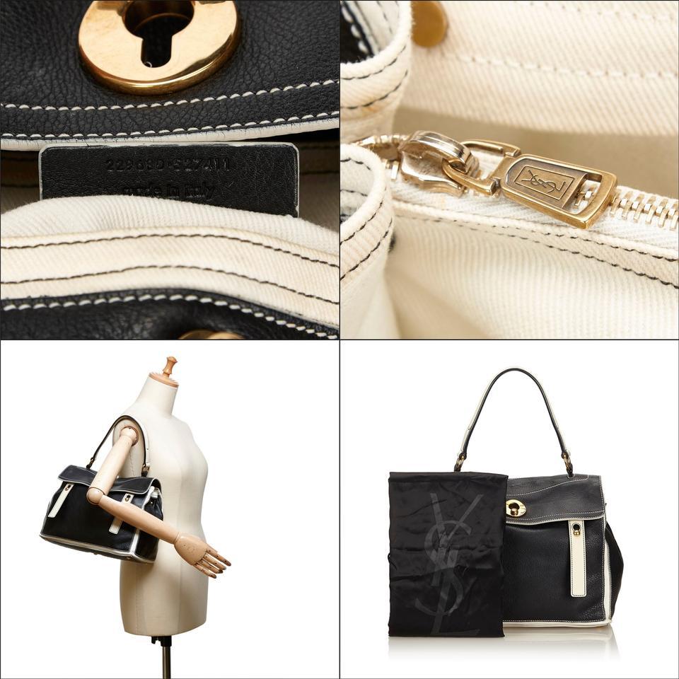 Muse Muse Laurent Saint Leather Baguette X Others Two Black HnZnw56x