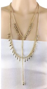 BCBGeneration Y long tiered chains multi strands