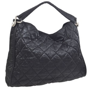 Chanel Hobo Caviar Luxury European Tote in black