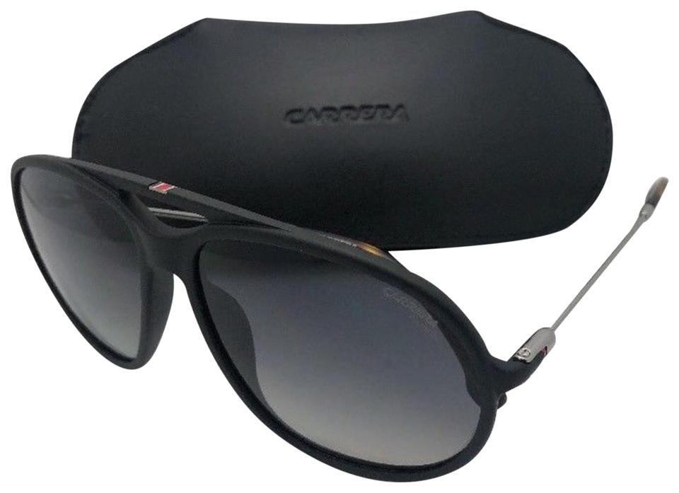 ffac5a92850f Carrera Polarized CARRERA Sunglasses 153/S 003WJ Matte Black Frame w/Grey  Fade Image ...