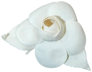 Chanel Chanel Camellia Flower Ivory White Vintage Pin Brooch