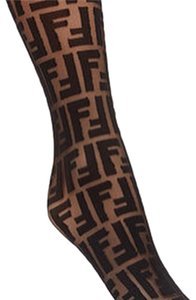 Fendi Logo Monogram Socks